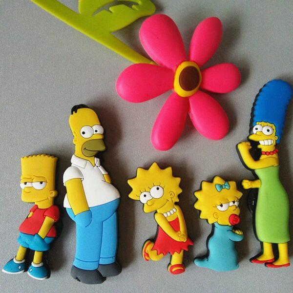 simpsons fridge magnets