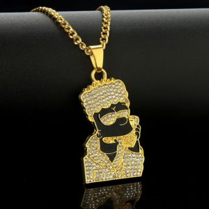 The Simpsons Bart Necklace