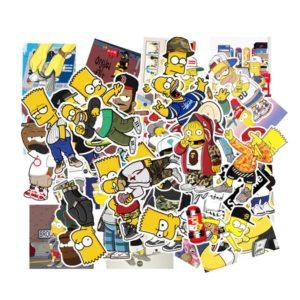 simpsons stickers