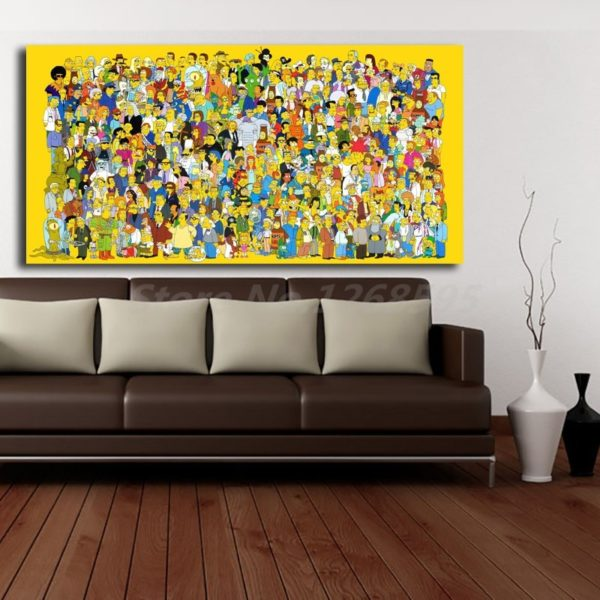 the simpsons posters