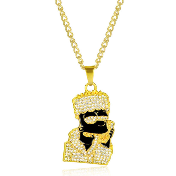 the simpsons necklace