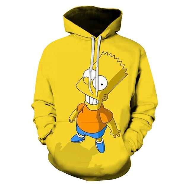 simpsons hoodie