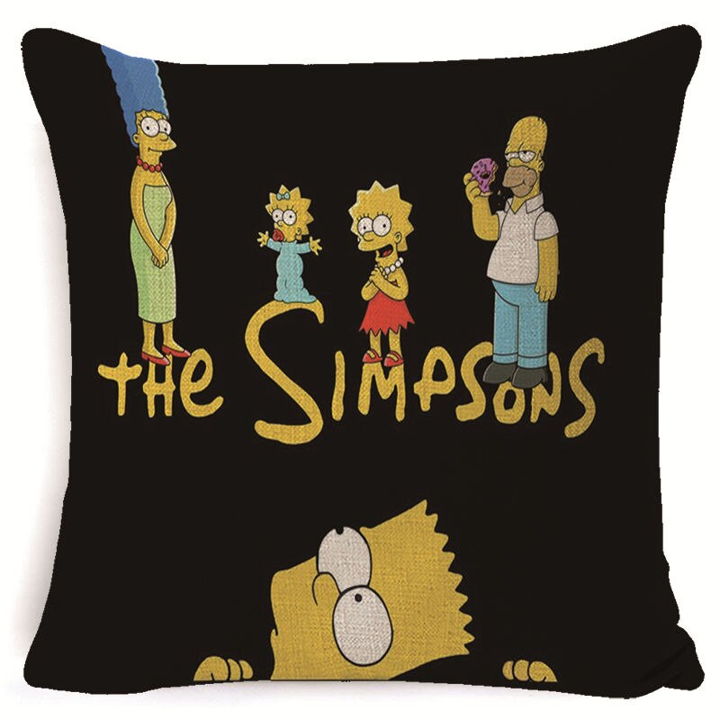 simpsons pillowcases