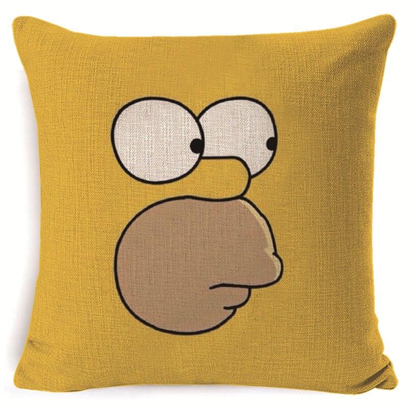 simpsons pillowcase