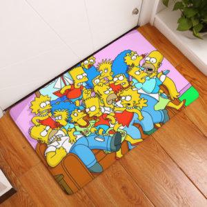 The Simpsons Floor Mat #1