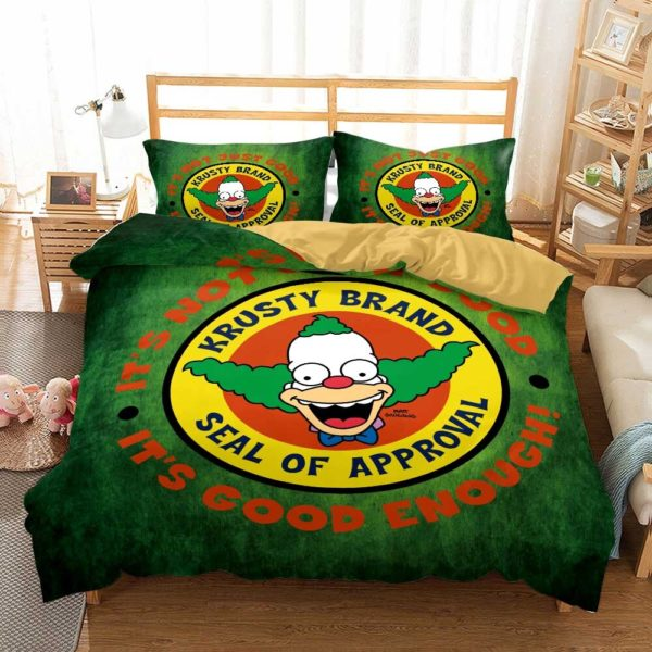 simpsons bed covers