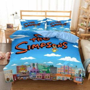 The Simpsons Bed Cover #4