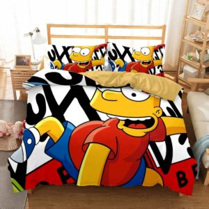 The Simpsons Bed Cover #1