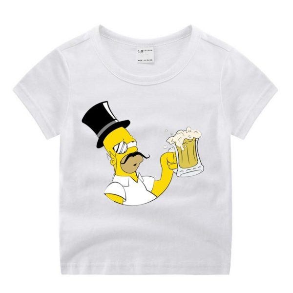 simpsons t-shirt