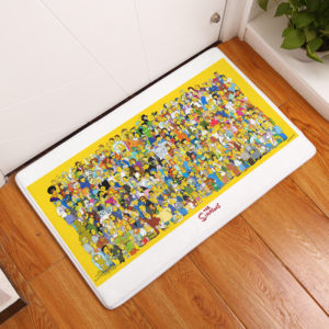 The Simpsons Floor Mat #13