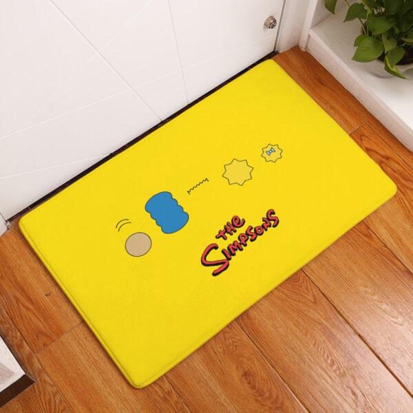 simpsons floor mat