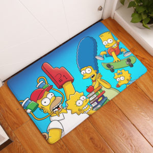 The Simpsons Floor Mat #17
