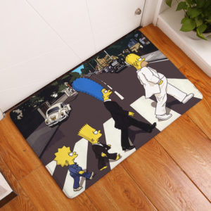 The Simpsons Floor Mat #7
