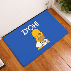 The Simpsons Floor Mat #9