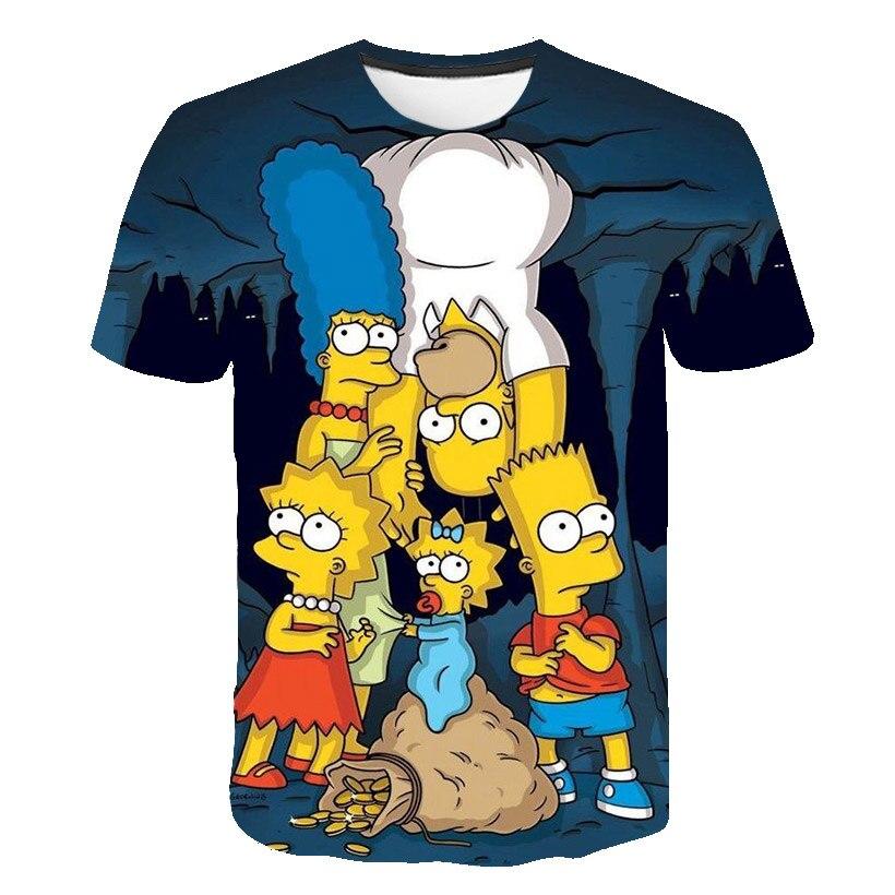 simpsons t-shirts