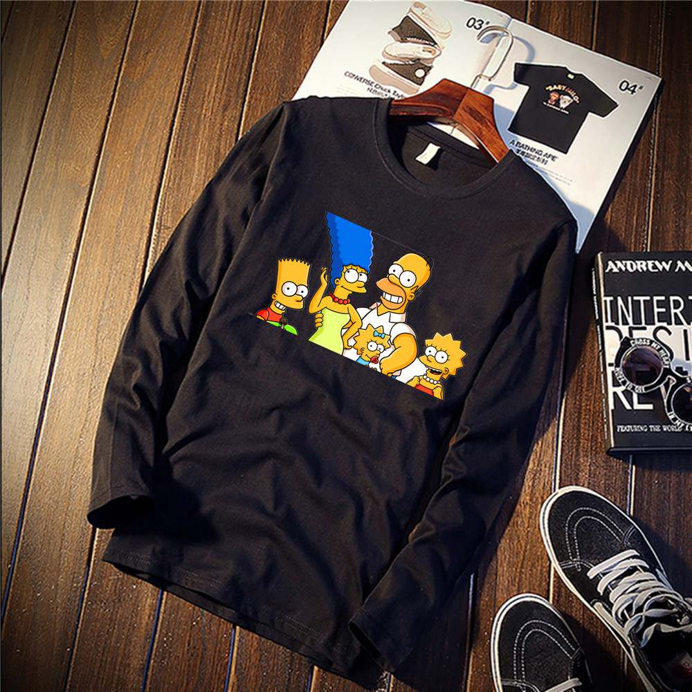 simpsons sweatshirt