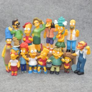 The Simpsons Figure Toys Set