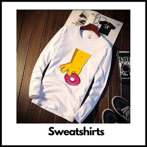 simpsons sweatshirts