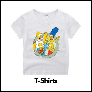 simpsons t-shirts