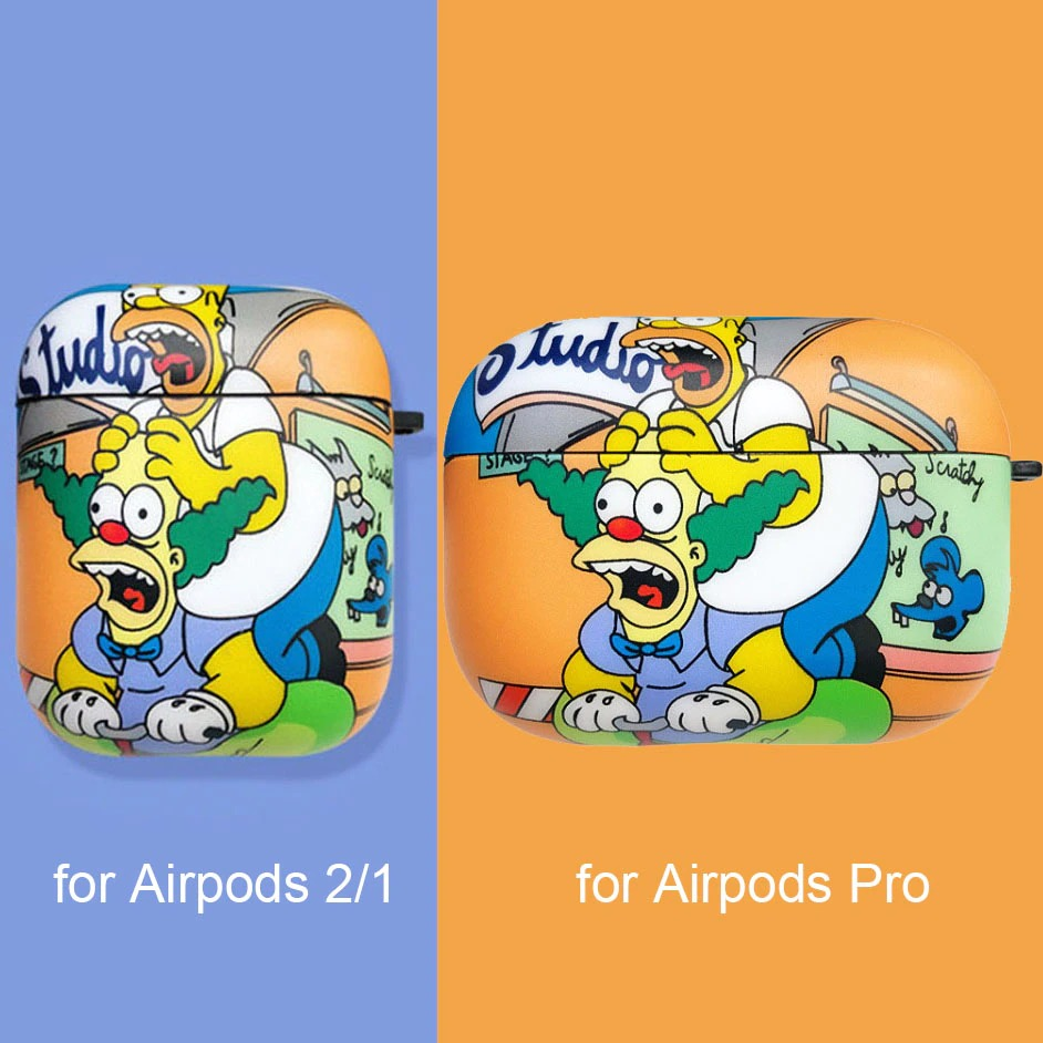 the simpsons airpods cases