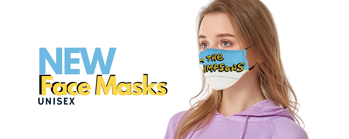 simpsons face mask