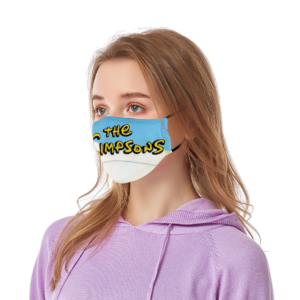 The Simpsons Face Mask